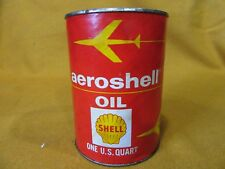 SHELL  AEROSHELL OIL: AVIATION 100 SAE 50:  IN ORIGINAL PAPER CAN