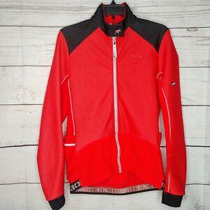 Mens Assos Airblock Cycling White Jersey Longsleeve Jacket Size XL