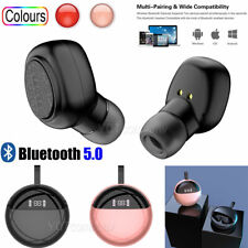 New listing For iPhone Samsung Lg Bluetooth 5.0 Headset Wireless Headphones Earbud Earphone