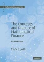 The Concepts and Practice of Mathematical Finance  Mathematics, Finance and Risk