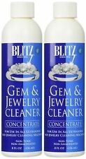 2 Pack Jewelry Cleaner Solution For Ultrasonic Machine Silver Gold Diamond Gem