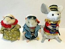 GEMMY Dancing Singing Hamster Phat Daddy Mac Jimbo Hawaiian Christmas Mouse 3pcs