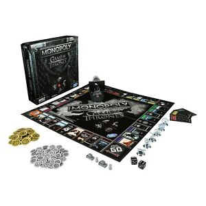 MONOPOLY Game of Thrones Limited Collectors Edition Board Game for Adults