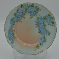 Vintage C T Germany Hand Painted Porcelain Plate 7""