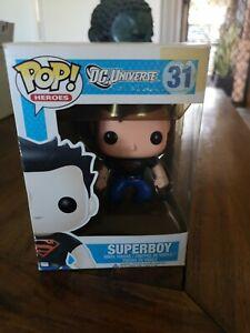 Funko Pop! Heroes SUPERBOY #31 DC Comics Universe Superman Superhero Vaulted POP