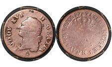 1 Sol 1791 France 🇫🇷 Coin // King Louis XVI  # 578