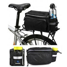 Cycling Bicycle Bike Rear Seat Bag Handbag Pannier Trunk Bag Multi-functional