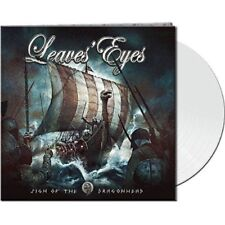LEAVES EYES Sign Of The Dragonhead - LP / White Vinyl - Limited 500