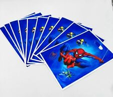 20 Pcs Set, Spiderman Candy plastic bags Kids Birthday Party Supply