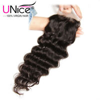 Natural Wave 4x4 Closure Pre Plucked With Baby Hair Brazilian Hair Lace Closure