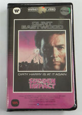 SUDDEN IMPACT (Warner Home Video Clamshell) ~ VHS (R Rated) ~Clint Eastwood 1983