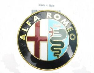 ALFA ROMEO GTV & SPIDER 916 1995 > 2002  New Rear Boot & Front grille Badge set