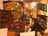 ABBA Hardcover Books, Posters, VHS video, Records Covers, Clippings & More $700
