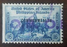 Philippines stamp hand stamped O.B.O. used hinged,,.