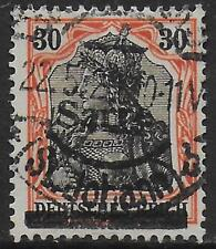 Saar stamps 1920 MI 10y TypeIII CANC VF