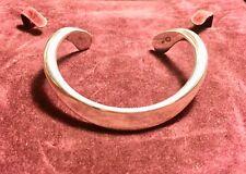 UNISEX Quality GEORG JENSEN Sterling Silver CUFF/Bracelet by OVE WENDT. BNWB