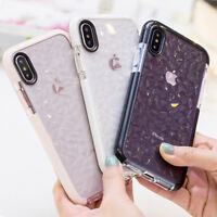 For iPhone 11 Pro Max XS XR X 8 7 Plus Crystal Glitter Rubber Soft Case Cover