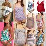 Maternity Tankinis Women Floral Print Bikinis Swimsuit Beachwear Pregnant Suits