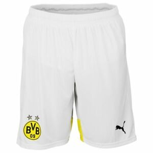 Puma Herren Fussball Short Kurze Hose Sporthose BVB Replica Short Trainings