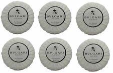 Bvlgari au the blanc lot of 6 ea 1.76oz bars of Resort Soap Total of 10.56oz