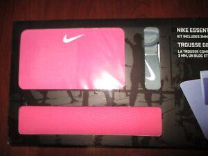 Nike Essential Yoga Kit w/3MM Mat, Block and Strap