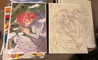 🍑 Big Girls 1 Peach Momoko 🔥 Variant Set! Sketh + Virgin ! Limited & Sold Out!