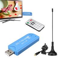 USB 2.0 Digital DVB-T SDR+DAB+FM HDTV TV Tuner Receiver Stick for Windows 7/8 PC