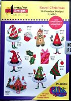 Amazing Designs Sweet Christmas Classic Designs Embroidery CD, ADP-35J