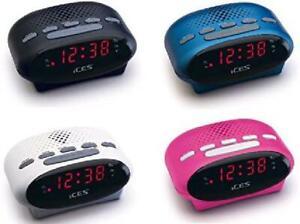 Radiowecker Uhrenradio (UKW Radio, 2x Weckzeiten, Schlummerfunktion, Sleeptimer)
