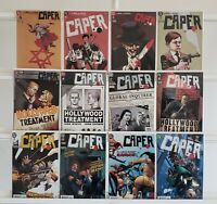Caper 1 2 3 4 5 6 7 8 9 10 11 12 Complete DC Set Series Run Lot 1-12 VF/NM