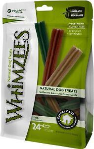 Whimzees Stix Small - 24 pack (+ 4 FOC) Natural Dental Treat Chew