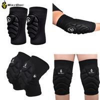 Gomitiere per il ginocchio Supporto Gomitiere BMX MTB Bike Safety Leg Protectors