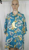 NWT NEW Men's Banana Cabana Size XL Silk Hawaiian Shirt Casual Work Clothes