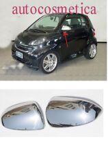 SMART FORTWO 451 2007-2013 cover specchi specchietti in acciaio cromo cromato