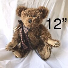 "Boyds Collection Ltd Original Mohair Bear 12"" Jackson R Bearington Brown Teddy"