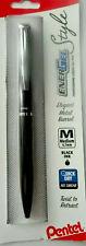 New Pentel EnerGel Style Black Medium Point 0.7mm Premium Gel Pen BL2007