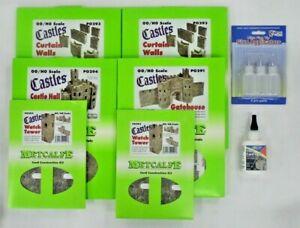 Metcalfe Castle PO291, PO292 (x2), PO293 (x2),PO294 Card Kit PLUS FREE GIFT