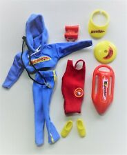 Barbie Baywatch Teresa Outfit & Accessories 1995 TV Show #13201