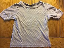 *TEA COLLECTION* Girls Heather Purple Top Shirt Size 4