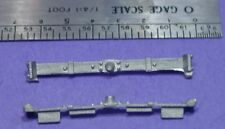 On2/On30 O329 SR&RL STYLE FREIGHT CAR BODY BOLSTERS 1/48 WISEMAN DETAIL PARTS