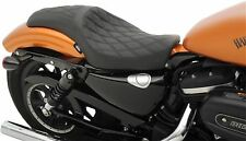 Drag Specialties Predator Diamond Seat fr Harley Sportster 48 72 XL Custom 10-17