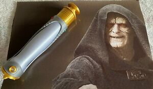 1:1 Scale - 3D Printed Darth Sidious/Palpatine/Emperor Lightsaber Cosplay Prop