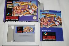 Street Fighter II Turbo - Boxed & Complete - VGC - Super Nintendo SNES Game PAL