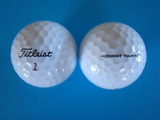 50 TITLEIST NXT TOUR GOLF BALLS IN MINT/A GRADE CONDITION