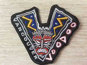Patch Vancouver Voodoo Inline Hockey Roller Hockey International Canada Defunct