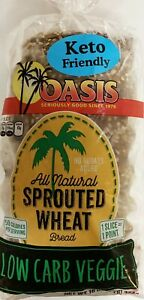 Oasis Veggie Bread- Low Carb, Keto, All Natural, Sprouted