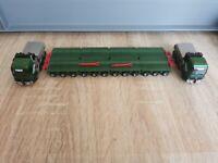 (P2) Herpa LKW H0 1:87 MB Actros Schwerlast Transport Spedition Kübler
