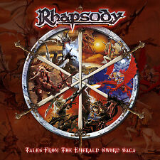 Rhapsody-tales from the Emerald sword saga Ltd package numérique CD 2004 + Free sticker