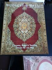 WOOLLEY AND WALLIS CATALOGUE CARPETS RUGS AND TEXTILES 9TH  JULY 2002.