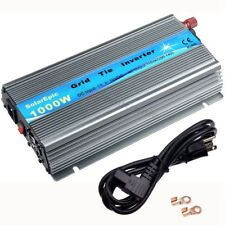 MPPT 1000W Grid Tie Inverter 110V Use For 18V/36cells Solar Panel Pure Sine Wave